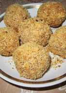 Полезные конфеты из овсяных хлопьев и орехов, можно кушать и в Пост