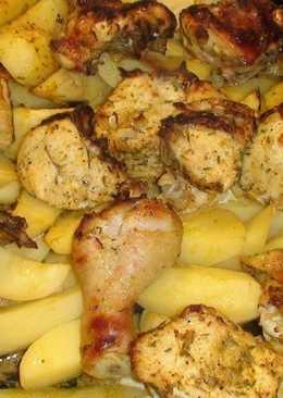 Курица с картошкой по-маррокански