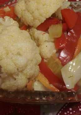 Новогодний рецепт! Маринованная цветная капуста
