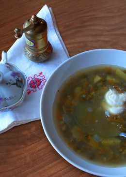 Суп из маша. Постное меню