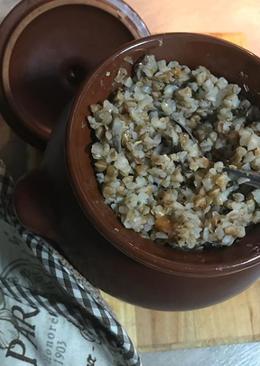 Гречка с грибами и овощами в горшочке #чемпионатмира #россия