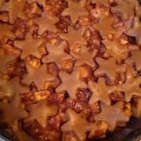 Шоколадно-яблочный пирог #спас