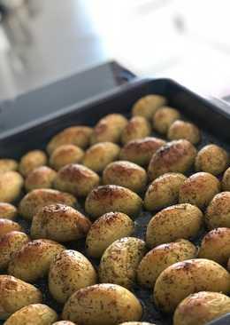 Идеальный гарнир. Запечённый молодой картофель
