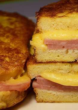 Быстрый завтрак или перекус для ленивых за 10 минут!#кулинарныймарафон
