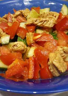 """Салат с овощами """"по-китайски"""""""
