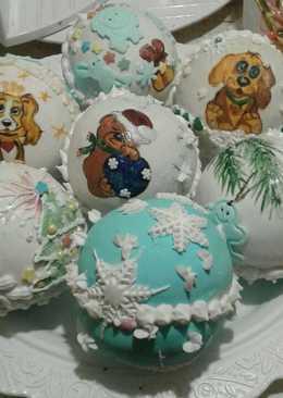 Новогодние пряничные шары с сюрпризом
