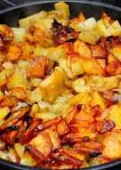 Картошка с фаршем