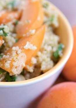 Фруктовый салат с кускусом