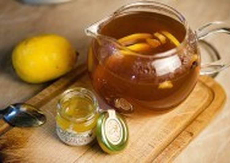 Морс с лимоном и гвоздикой