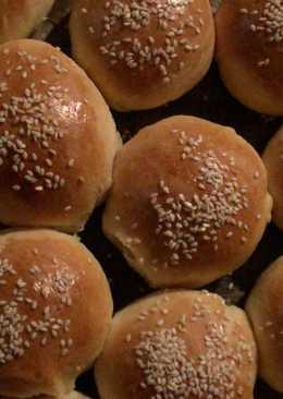 Булочки на гамбургер или Закусочные булочки с кунжутом Hamburger Buns Burger Bun