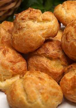 Сырные заварные булочки