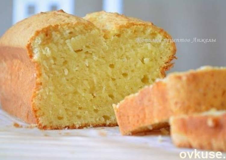 Творожный кекс (быстро, просто и ооочень вкусно :)
