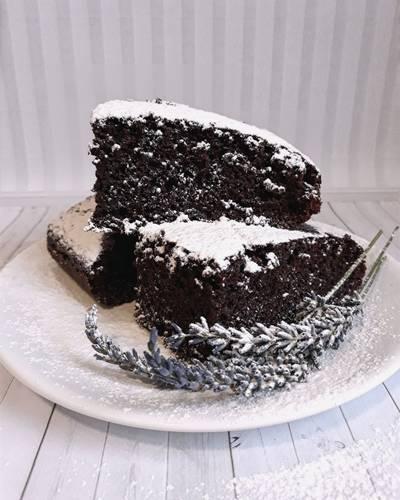 Шоколадный пирог без яиц! #Летниедесерты