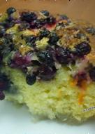 Пирог на кефире с ягодами #непп