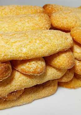 Печенье Савоярди. Дамские пальчики