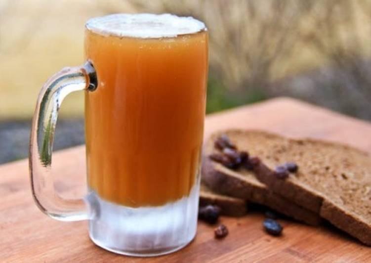 Домашний КВАС - Простой и вкусный рецепт