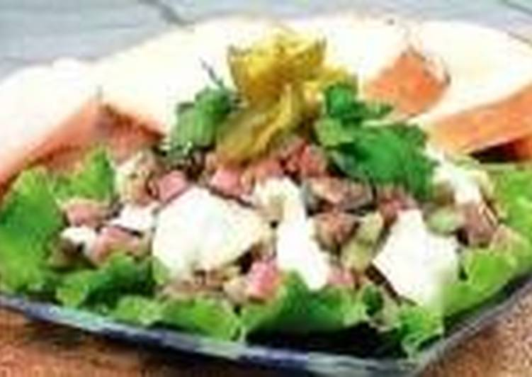 Смешанный салат по-польски