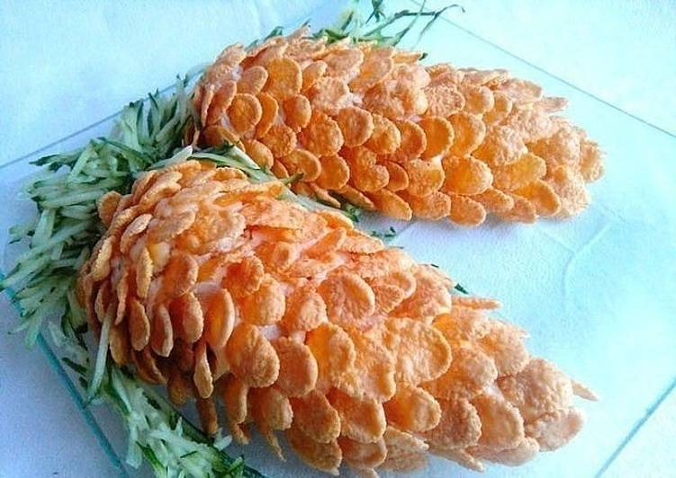 салат в виде шишек рецепт с фото