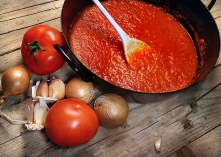 Томатно-луковый соус-заготовка