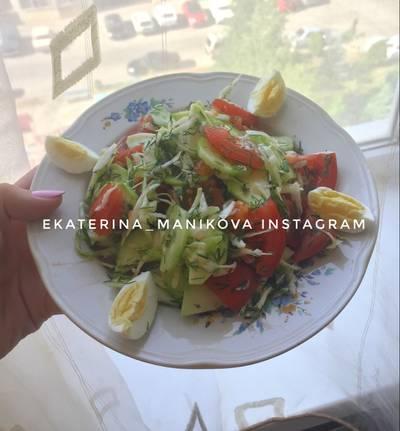 Салат «очень витаминный» #чемпионатмира #россия