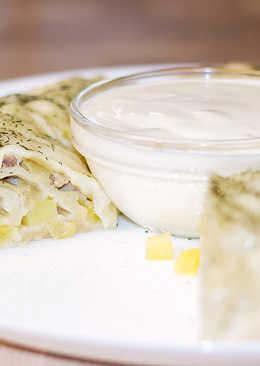 Рецепт ханума с мясным фаршем и картошкой