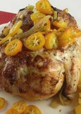 Курица с имбирно-кумкватовой глазурью
