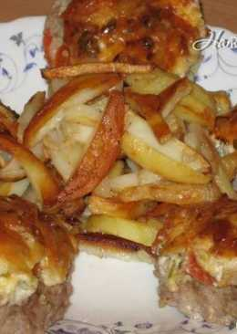 Котлеты по-французски с картофелем