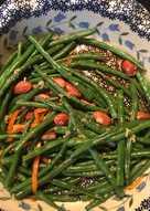 Салат из кенийской фасоли! изысканный рецепт