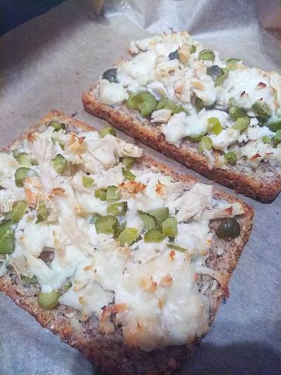 Быстрые бутерброды на завтрак