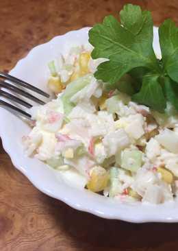 Классический рецепт крабового салата! #чемпионатмира #россия