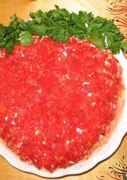 салат ягодка рецепт с фото