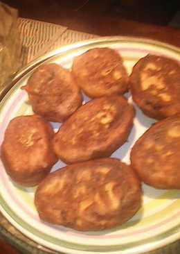 Ржаные пирожки со сладкой тыквой