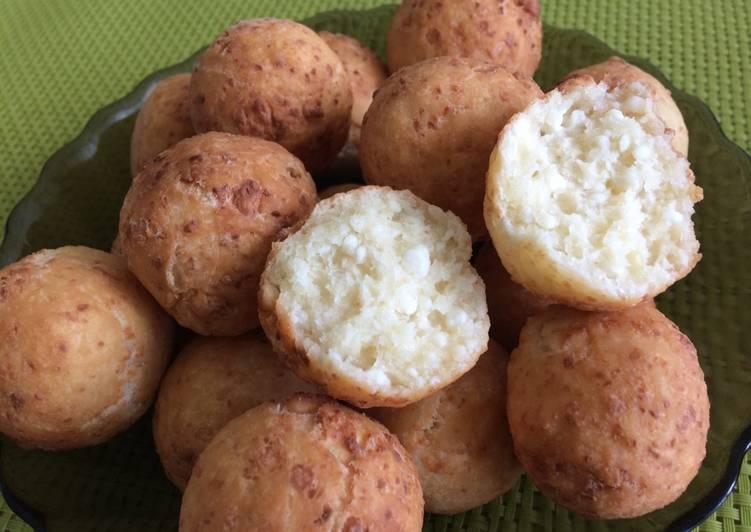 Рецепт сырные колобки — 5