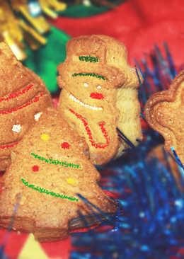 Имбирное печенье очень вкусное