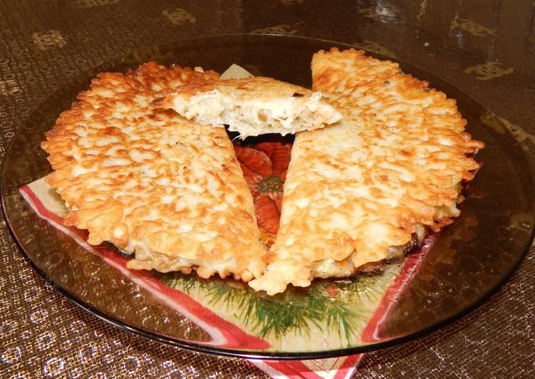 Пирожки из кабачка с начинкой