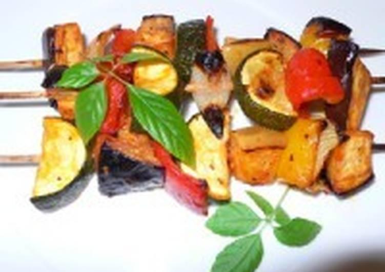 Овощной шашлык «Ассорти»