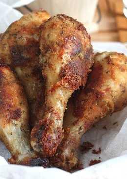 """Как """"пожарить"""" курицу без жарки?Просто в духовке"""