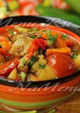 Кавардак – густой суп с мясом и овощами