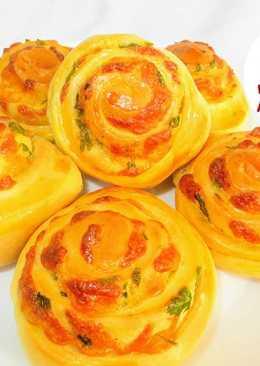 Простые булочки с сыром