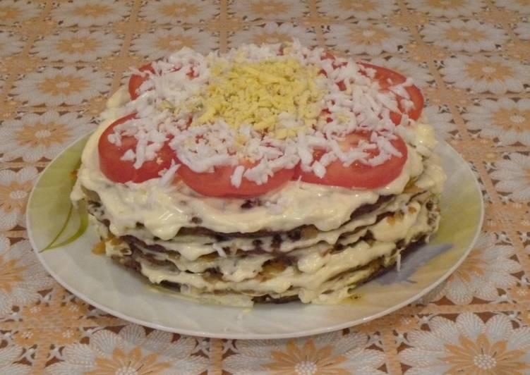 рецепт с сметаной что можно делать торт печени