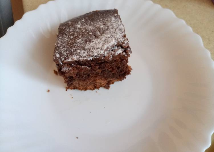 Шоколадный мокрый кекс
