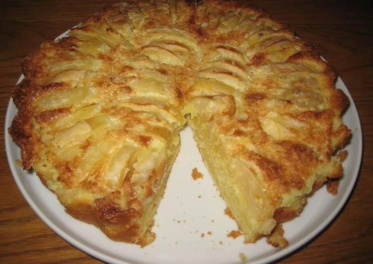 Рецепт яблочного вкусного пирога