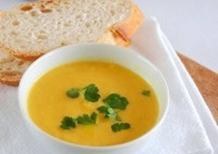Чесночно-миндальный суп