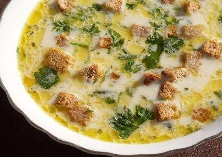 Подборка рецептов сырных супов