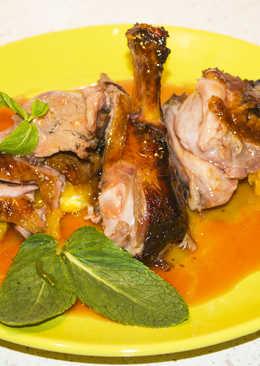 Утка с апельсинами - Запеченная утка на праздничный стол