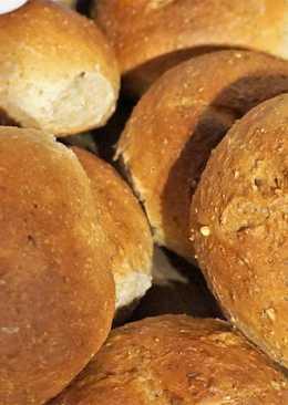 Ржаные хлебные булочки