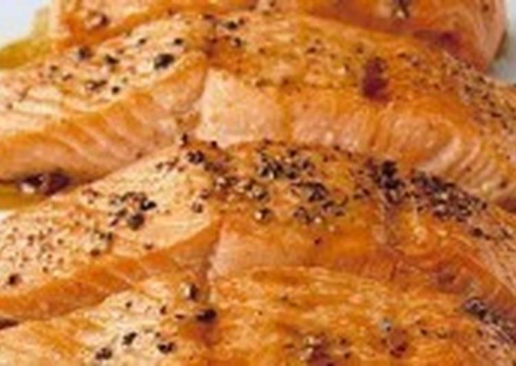 Рыба под медовым соусом