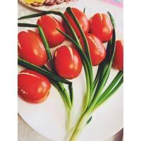 Салат-закуска «Букет тюльпанов 💐»