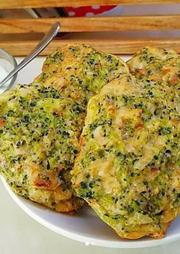 Биточки из брокколи в духовке. #кулинарныймарафон