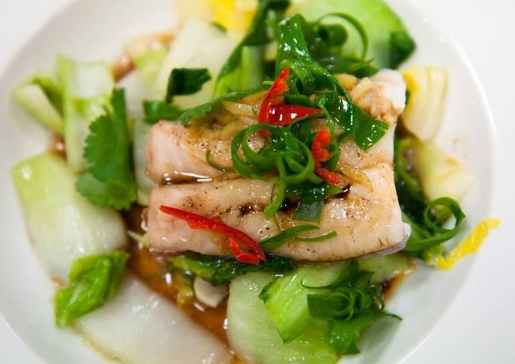 Рыба на пару - рецепт
